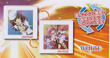 Angel Beats チェンジングクロック■単品 ホワイト