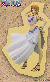 ■ワンピースDX GIRLS SNAP COLLECTION1■単品 ナミ  (送料650円 北海道.沖縄.離島を除く)