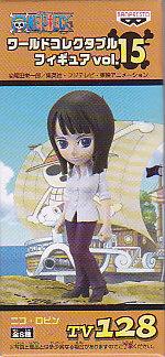 ★ワンピースワールドコレクタブルフィギュア Vol.15■単品 128ニコ・ロビン