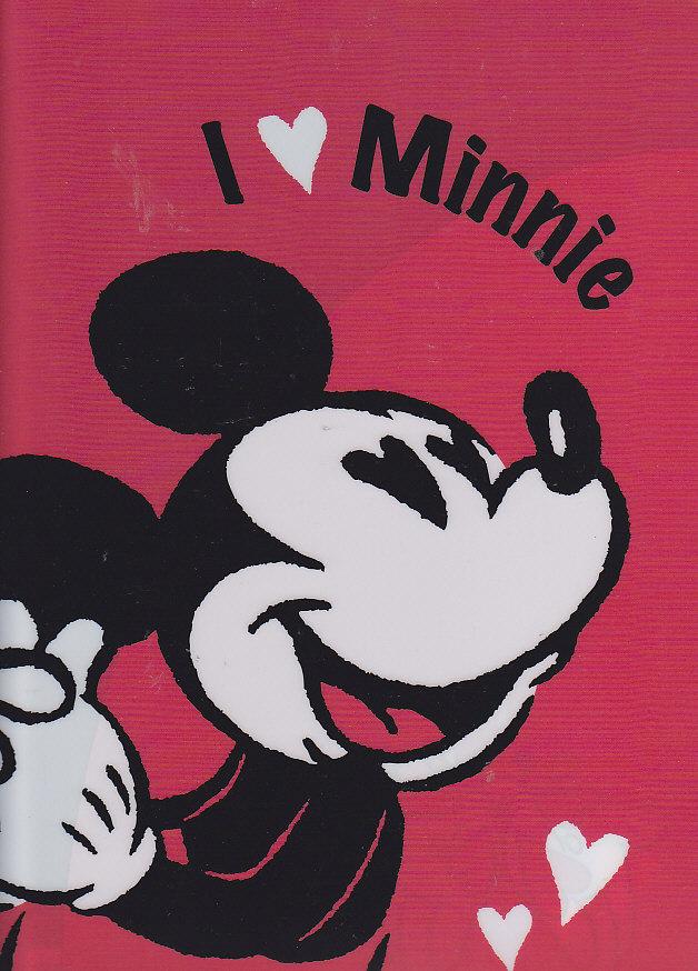 クリアファイル(両開き)ミッキー