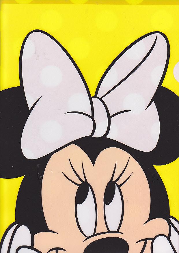 クリアファイル(1面)ミニーマウス