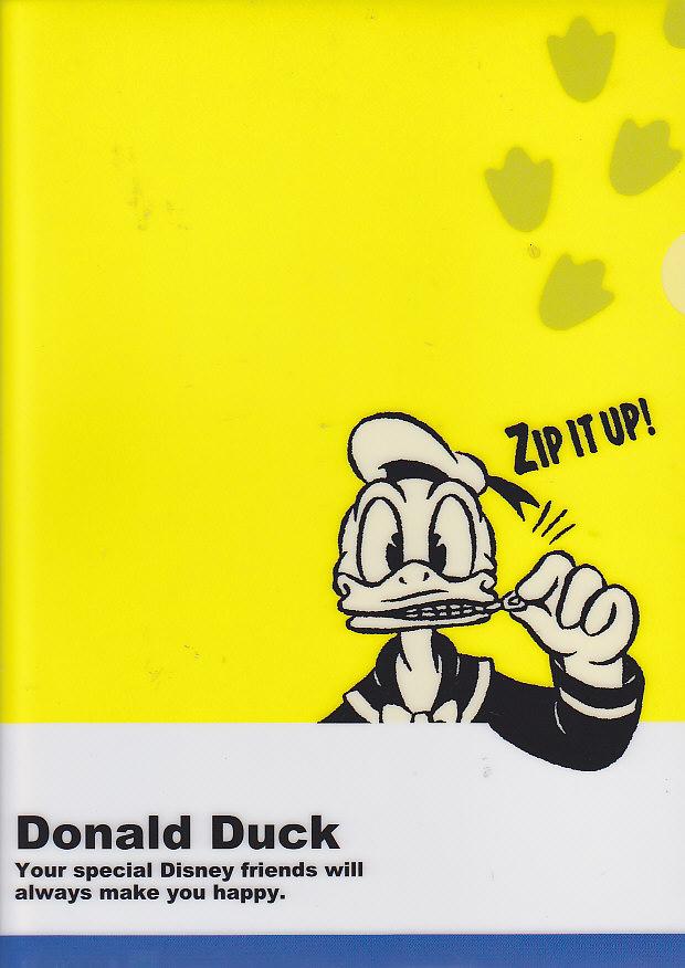 クリアファイル(1面)ドナルド