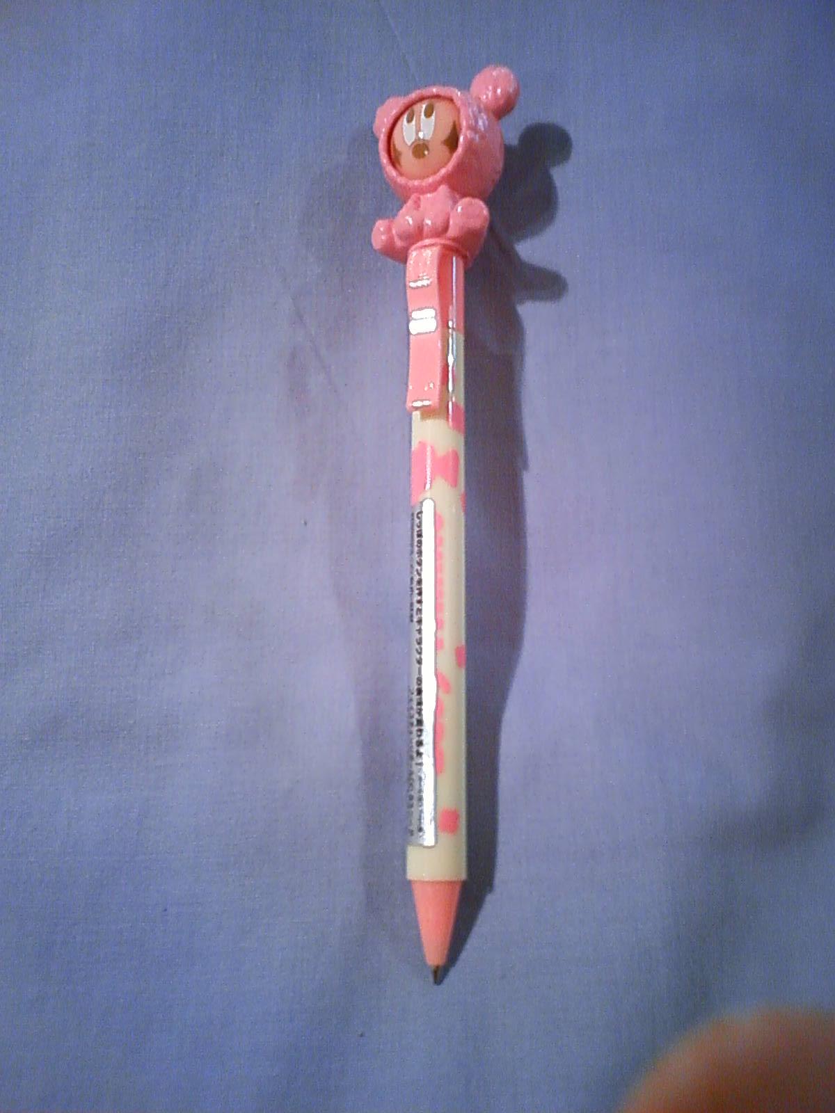 ボールペン ベビーミニー/ピンク