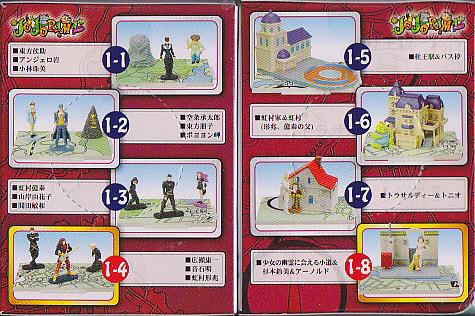 ▲ジョジョの奇妙な冒険ドラマinジオラマJOJORMAvol.1■8種セット
