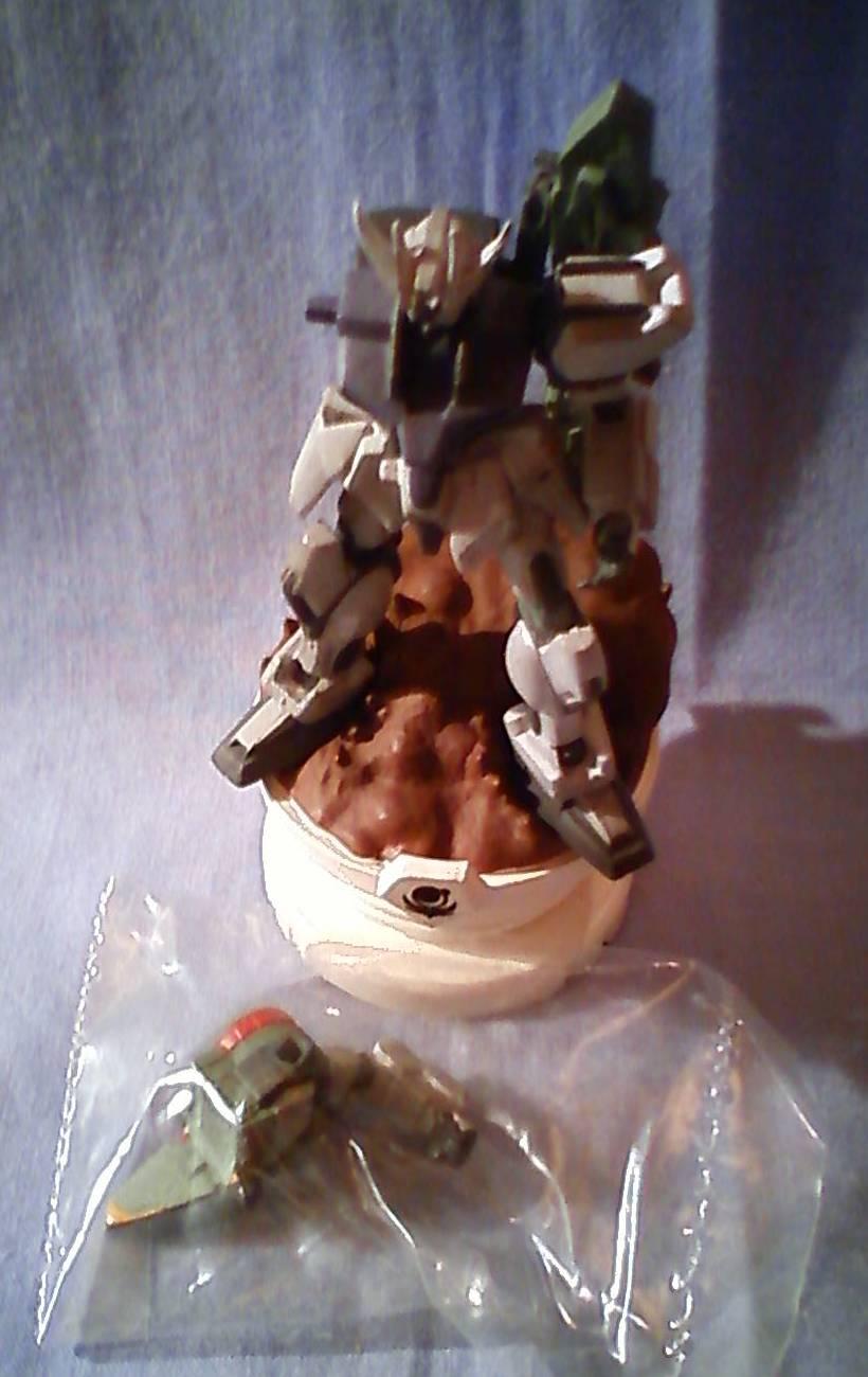 ★チェスピースコレクションガンダムSEED01その名はガンダム編■単品 GRT.X105ランチャーストライクガンダム ダメージver.