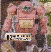 ★装甲騎兵ボトムズ■単品 ATM-09-GCブルーティッシュジッグ