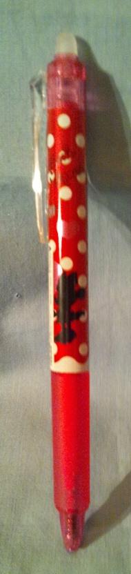 ミニーボールペン/赤インク