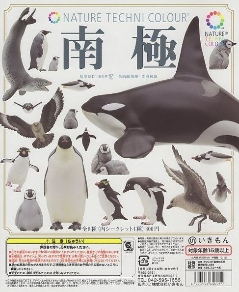 ■ネイチャーテクニカラー南極■8個※※