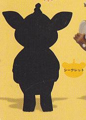 ★怪獣ブースカvol.2■単品 シークレット 白黒