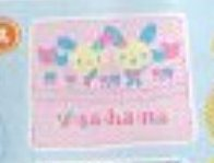 ★ウサハナバレリーナLet'sおでかけセット■単品�Aポケットティッシュケース