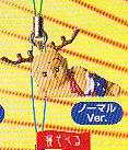 ★せんとくんミニフィギュアストラップ■単品 ねそべるノーマルver.