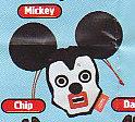 ■キュービックマウスびっくりフェイスきんちゃく■単品 ミッキー