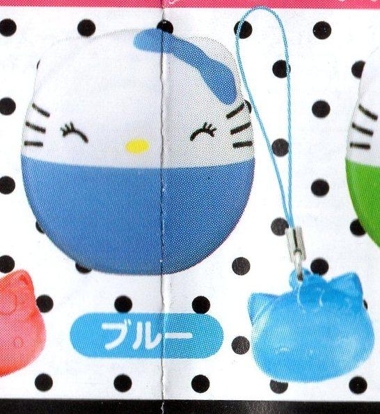 ■ハローキティ コインケース&カラフルマスコット■単品 ブルー