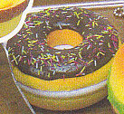 ■できたてハラペコミラー■単品 チョコレートドーナツ