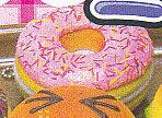 ■できたてハラペコミラー■単品 いちごドーナツ