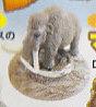◇マンモスフィギュア■単品 マンモス/灰色