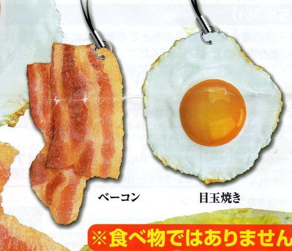 ◎あこがれの朝食◎ベーコン&目玉焼き