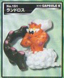 ◆立体ポケモン図鑑BW03◆151ランドロス