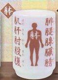 ◎この漢字よめますか? Mini湯のみ◎身体