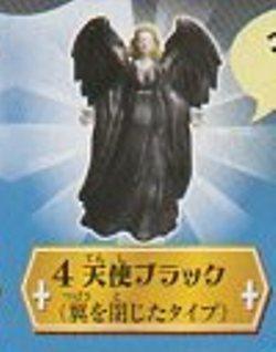 ◎天使の囁き、悪魔の誘惑◎天使ブラック/翼を閉じたタイプ